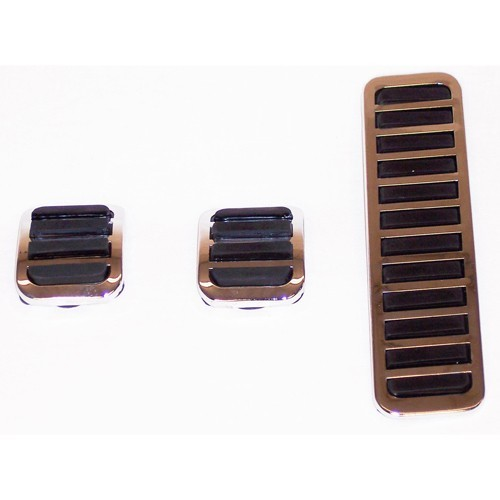 Custom Pedal Covers 3 Piece, Fits Stock VW Pedal Systems