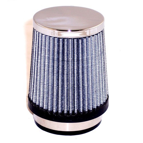"Pod Style Air Cleaner, Tapered 4-3/4"" Tall, 2-5/8"" Inlet"