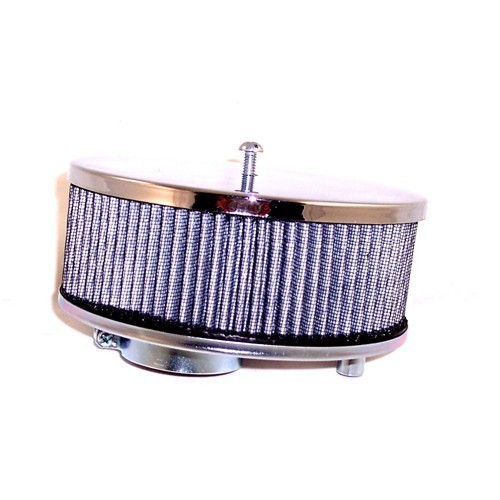 """Air Cleaner Assembly, 6-3/8"""" Dia, 3-1/2"""" Tall, 2-1/16"""" Inlet"""