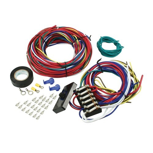 Buggy Wire Loom Kit, With Fuse Box