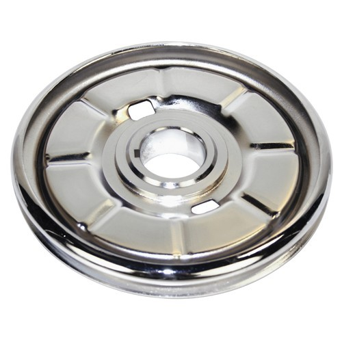Chrome Stock Steel Crank PulleY, For Aircooled VW