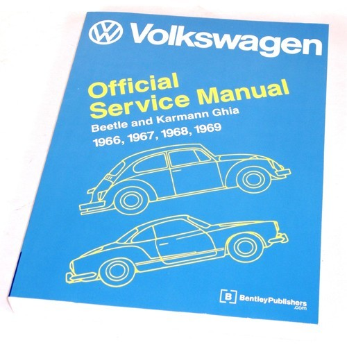 BENTLEY REPAIR MANUAL, Type 1 Beetle & Ghia 66-69
