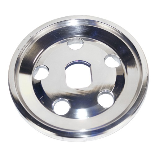 Billet Alternator Pulley Half, For VW, Polished