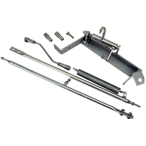 Dual Carb Linkage Kit, For Brosol & Solex Carbs, Twist Style