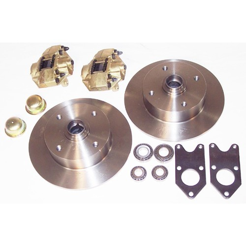 Disc Brake Kit, 4 On 130Mm, For King Pin 56-65