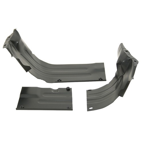 Heater Channel Kit, 3 Piece For VW, Black