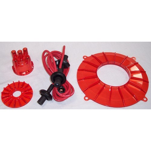 Engine Color Kit, Red, For Aircooled VW