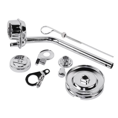 Deluxe Chrome Dress Up Kit, For Aircooled VW Engines