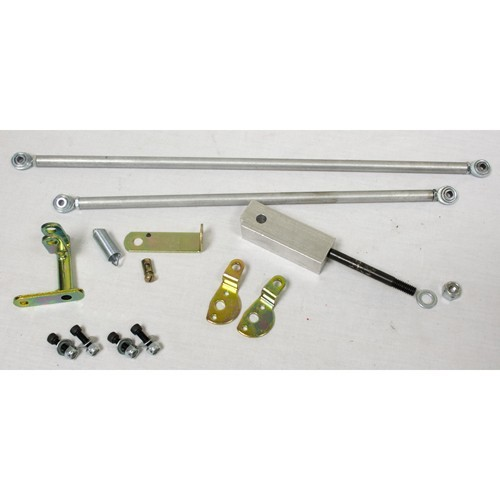 Dual Carb Linkage Kit, Universal, Twist Style