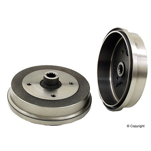 Irs Brake Drum, 4 On 130mm, Beetle 68-77, Ghia 71-79 Premium