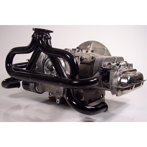 """Baja Exhaust, 1-1/2"""" With 3 Bolt Flange, Raw"""