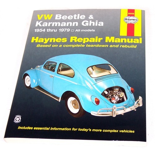 Haynes Repair Manual, Type 3 68-79