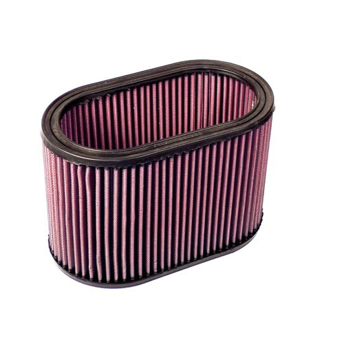 """Air Cleaner Element, 5.5""""X9"""" Oval, 6"""" Tall, Gauze"""