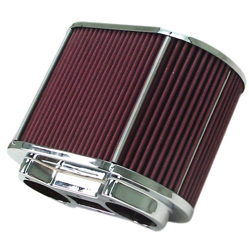 """Air Cleaner Assembly, Fits Ida & EPC, 5.5x9 Oval, 6"""" Tall"""
