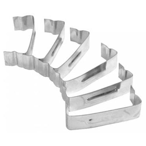 Air Cleaner Hold Down Clips, For 2-1/2 Tall Assemblies, 6 PK