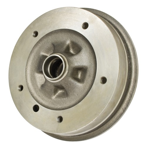 Front Brake Drum, 5 On 205mm, Bus 64-70