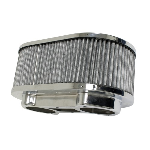 "Air Cleaner, For Ida,  5.5"" X 9"" Oval, 3"" Tall, Gauze"