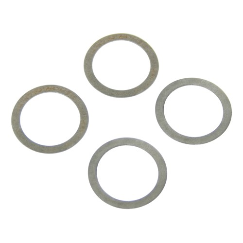 "Rocker Arm Shim Set, .010"" Thick, 19.5mm, Set of 8"