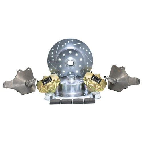 Drop Spindle Disc Brake Kit, 5 On 4-3/4 Chevy, Ball Joint VR