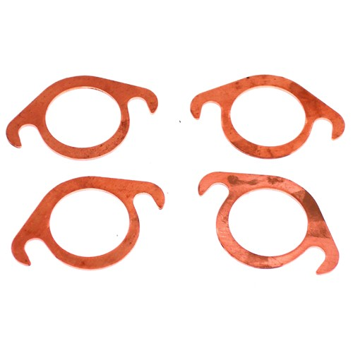 """Exhaust Gaskets, 1-5/8"""" CopperSlip-in, 4 Pack"""