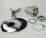CHROME ALTERNATOR KIT 55A