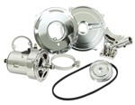 DELUXE CHROME ALTERNATOR KIT