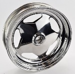15 X 4  BILLET KING PIN WHEEL