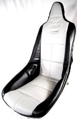 HIGH BACK POLY SEAT COVER, GREY