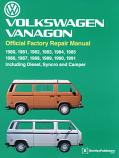 BENTLEY MANUAL, VANAGON 80-91