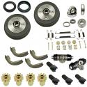 FRONT BRAKE KIT, Super Beetle 71-79