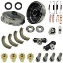 FRONT BRAKE REBUILD KIT, Beetle 58-64, King Pin Beam