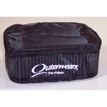 "Outerwear Pre-Filter, 4.5"" X 6.5"", 2.5"" Tall, Black"