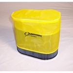 "Outerwear Pre-Filter, 4.5"" X 7"" Oval, 6"" Tall, Yellow"