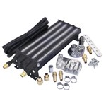 8 Pass Oil Cooler Kit, For Type 4 VW, With Threaded Fittings