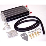 8 Pass Oil Cooler Kit, With Barbed Fittings
