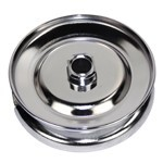 Alternator & Generator Pulley, Standard Chrome, For Type 1