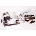 Dual Port Cylinder Shroud For Type 1 VW, Chrome