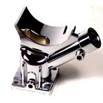 Chrome Alternator & Generator Stand, For Type 1 VW Engines
