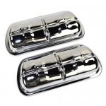Valve Covers, Chrome Clip On, Fits 1500cc & Up VW