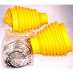 SWING AXLE BOOT KIT, Yellow, For Beetle & Ghia 48-68, Pair