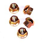 14Mm Porsche Style Nuts, Set Of 5
