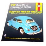 Haynes Repair Manual, For Beetle & Ghia 54-79