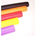 Roll Bar Padding, Orange, With Offset Hole, Sold Each