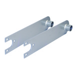 """Swing Axle Spring Plates, For 21-3/4"""" Torsion Bar"""