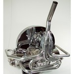 """Bobcat Exhaust, 1-1/2"""" With Straight Stinger, Ceramic Coated"""