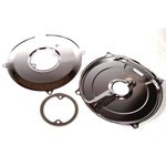 Generator To Alternator Conversion Backing Plate, Chrome