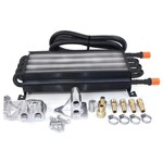 8 Pass Oil Cooler Kit, With Treaded Fittings
