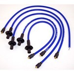 Taylor 409 Spark Plug Wires, 10.4mm, Blue, Fits Type 1 VW