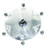Billet Aluminum Oil Sump Drain Plate, With Plug