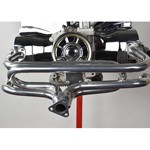 Exhaust Header, 3 Bolt Flange, For Beetle, Ceramic Coated